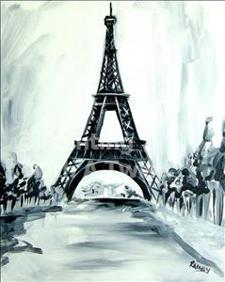 "Painting With a Twist - ""Eiffel Tower"""