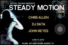 Capital Techno Presents : Steady Motion w/ Chris Allen