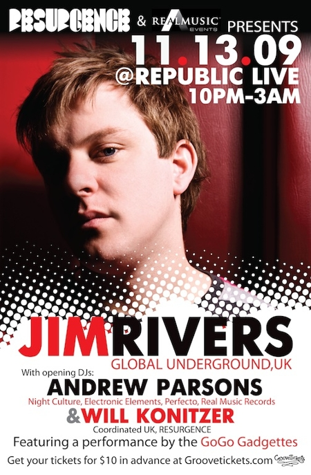 Resurgence presents JIM RIVERS (Global Underground)
