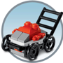 Lego Mini Model Build - Lego Lawnmower