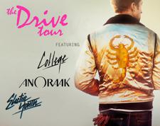 THE DRIVE TOUR, performances by, COLLEGE, ANORAAK, ELECTRIC YOUTH