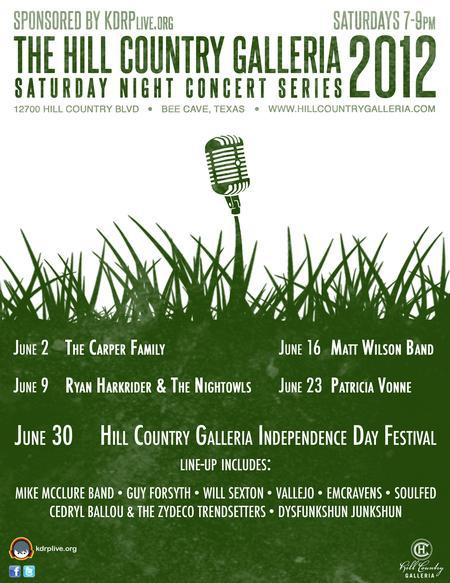 Saturday Night Concert Series - Matt Wilson Band