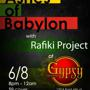 Reggae Night with 'Ashes of Babylon' and 'Rafiki Project'