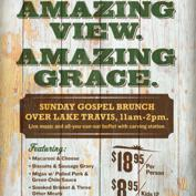 Uncle Billy's Sunday Gospel Brunch over Lake Travis