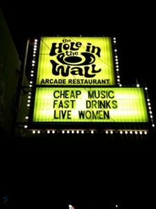 $2 You Call It! Service Industry Night at Hole in the Wall