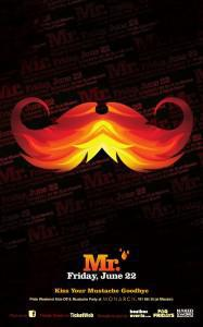 """MR."" The 5th Annual Mustache Party"