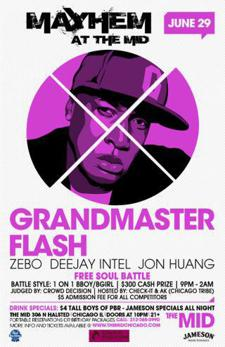 Grandmaster Flash,   Jon Huang,   Dj Intel