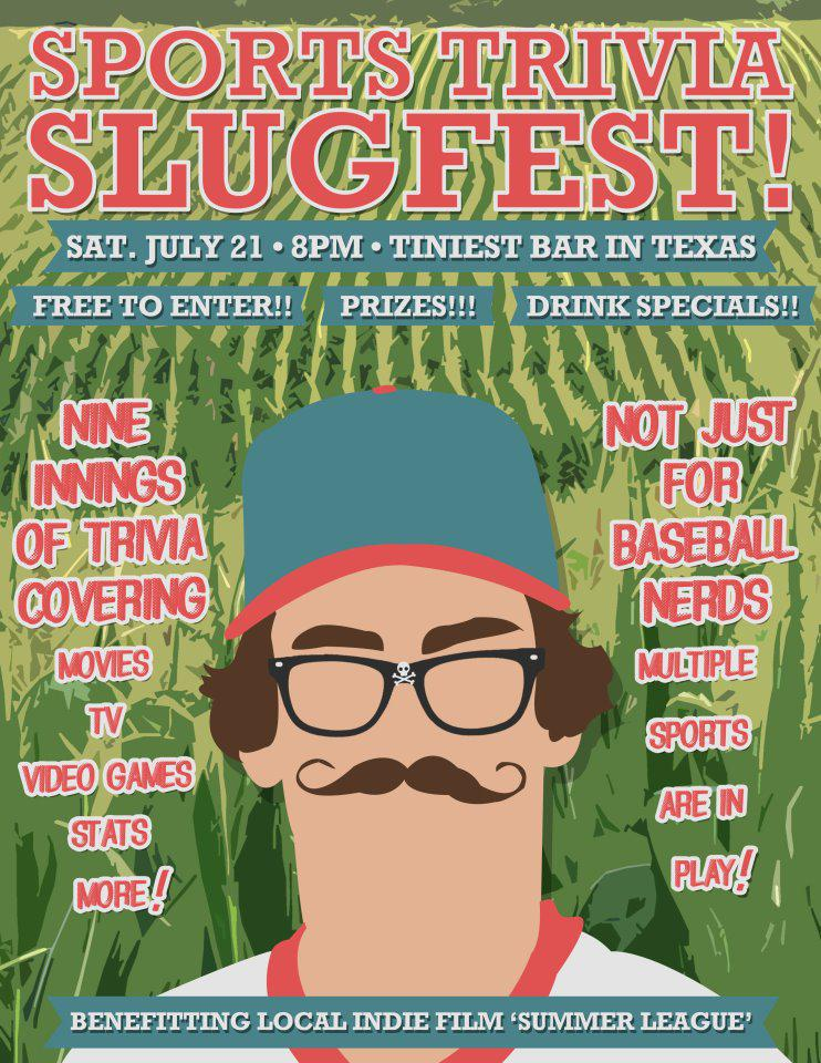 Sports Trivia Slugfest! + 'Summer League' movie fundraiser!!