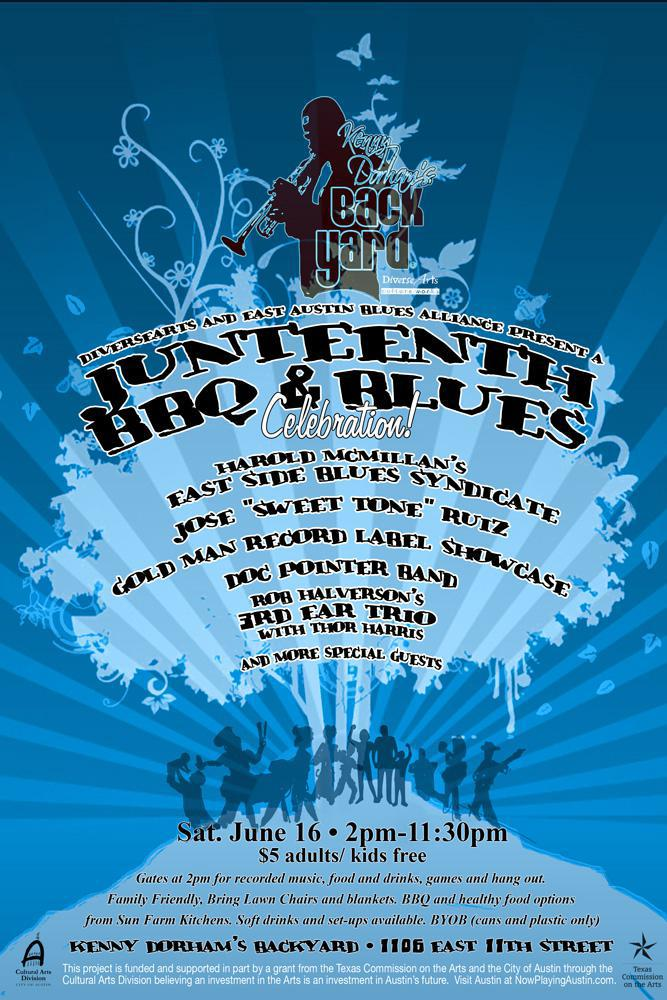 East Austin Blues Alliance Summer Series: Celebration of Juneteenth