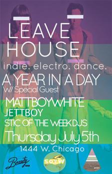 Leave House - Indie. Electro. Dance