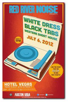 Red River Noise presents: White Dress, Black Tabs & Western Ghost House
