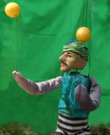 Magical Marionettes with Don Harms and Heather Jarry