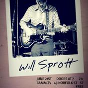 Audyssey and Noise Pop Present: Neighborhood.tv Sessions featuring Will Sprott (of The Mumlers)