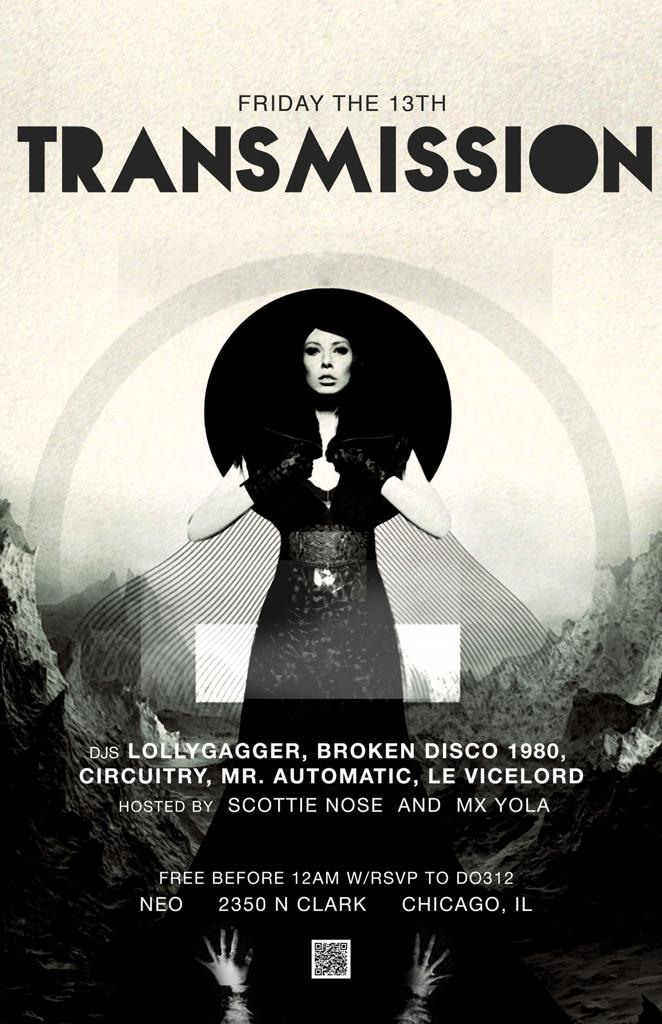 TRANSMISSION - Alternative dance with an edge
