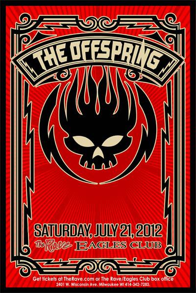 FM 102/1 Milwaukee presents: THE OFFSPRING, The Dreaming, AM Taxi