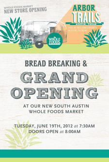 Bread Breaking and Grand Opening