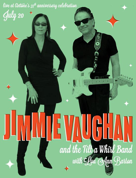 Jimmie Vaughan, The Bluebonnets and The Horton Brothers
