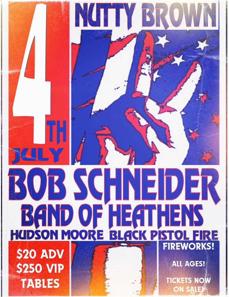 Bob Schneider's 7th Annual July Fourth Festival