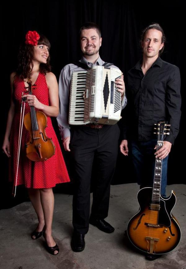 First Friday Happy Hour w/ Trio Zincalo