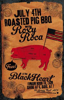 4th of July Soul BBQ w/ ROXY ROCA