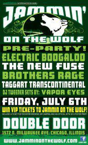 CANCELLED  -  Jammin On The Wolf PRE-PARTY