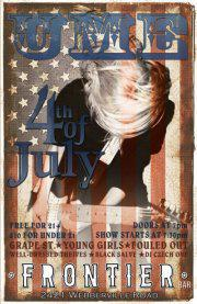 4th of July Party w/ UME, Grape St., Young Girls and More!