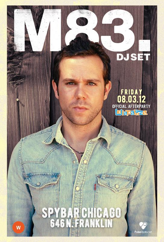 M83-DJ SET - LOLLAPALOOZA AFTER PARTY @ SPYBAR - 8/3