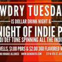 Tawdry Tuesdays w/ DJ Def-Tone-- Dollar Drink Night