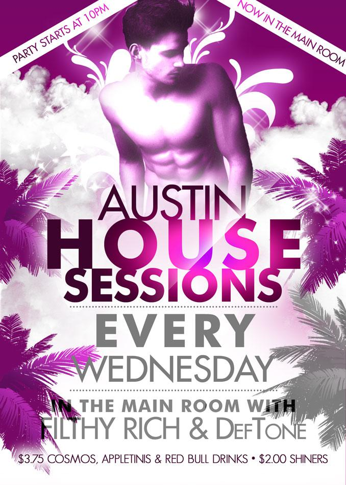 Austin House Sessions: $3.75 Appletinis & Cosmos