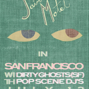 SAINT MOTEL, DIRTY GHOSTS, popscene DJs