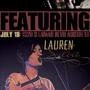 Lauren Silva full band show at Saxon Pub