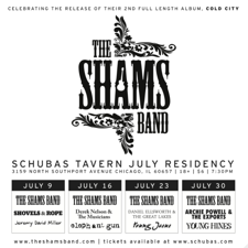 Practice Space presents: The Shams Band, Derek Nelson &amp; The Musicians, Elephant Gun