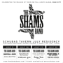 Practice Space presents: The Shams Band, Derek Nelson & The Musicians, Elephant Gun