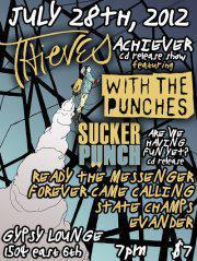 "Thieves, ""Achiever"" CD Release w/ With The Punches, Ready The Messenger, and more!"