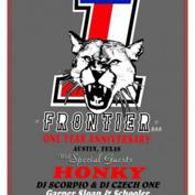 Frontier Bar's One Year Anniversary Party! with Honky