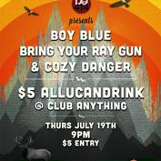 Do414 $5 All-U-Can-Drink Show Featuring: Boy Blue, Bring your Ray Gun & Cozy Danger (Sponsored by Vans Warped Tour)