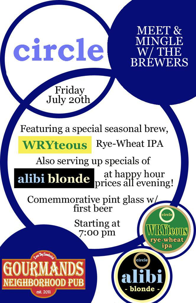 Meet Circle Brewing Co. & drink some seasonal