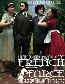 Parallelogramophonograph Presents: Improvised French Farce