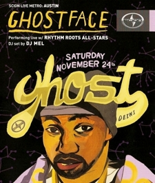 Scion Presents: GHOSTFACE & DJ Mel