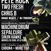 Euphonic Conceptions &amp; 1015 Folsom Presents RE:CREATION w/ PETE ROCK, TWO FRESH, MACHINEDRUM, and MORE!