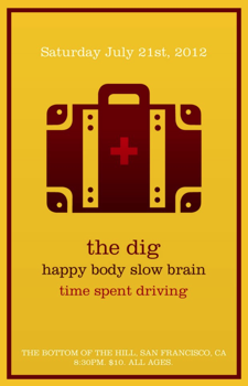 The Dig, Happy Body Slow Brain, Time Spent Driving