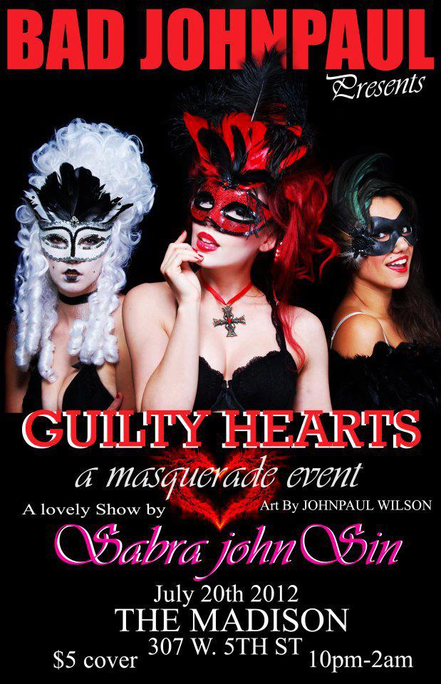 Guilty Hearts Masquerade at The Madison