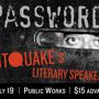  Password: A Literary Speakeasy