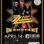 ZZ Top at the Backyard  SOLD OUT