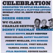 Antone's 37th Anniversary Show:  Antone's Ultimate Blue Monday Band Celebration w/ Derek O'Brien and All-Star Guests