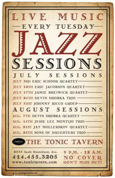 Live Jazz Sessions: Jesse Lee Montijo Trio