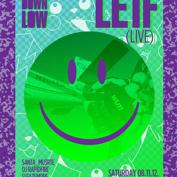 LIGHTS DOWN LOW PRESENTS Le1f LIVE!