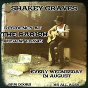 Shakey Graves with Little Radar, Acre Yawn (ft. Chase Weinacht of Marmalakes), Emily Wolfe