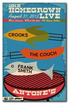 Crooks, The Couch, Frank Smith