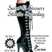 Stiletto Saturday w/Dj Saint - Sexiest Shoe Contest